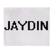Jaydin Digital Name Design Throw Blanket