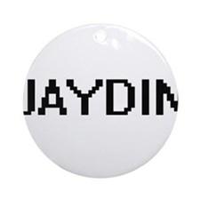 Jaydin Digital Name Design Ornament (Round)