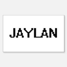 Jaylan Digital Name Design Decal