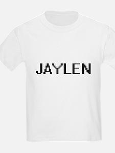 Jaylen Digital Name Design T-Shirt