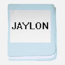 Jaylon Digital Name Design baby blanket
