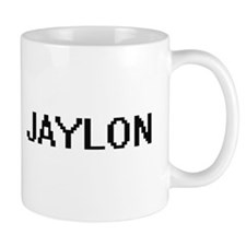 Jaylon Digital Name Design Mugs