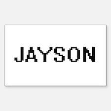Jayson Digital Name Design Decal