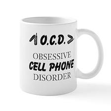 Cell Phone Disorder Mugs