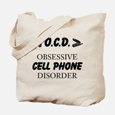Cell Phone Disorder Tote Bag