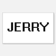 Jerry Digital Name Design Decal