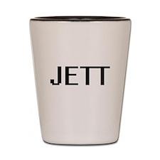 Jett Digital Name Design Shot Glass