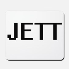 Jett Digital Name Design Mousepad