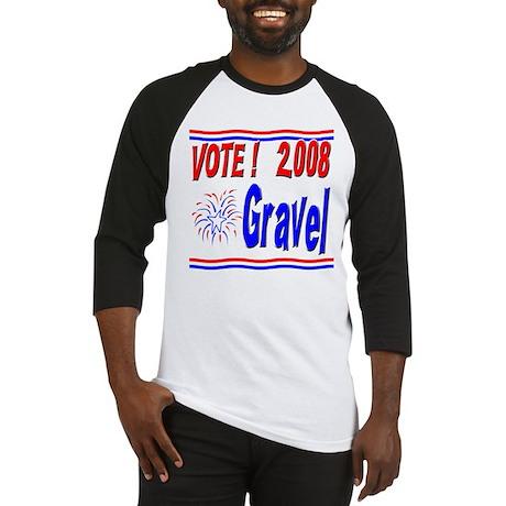 Vote Gravel Baseball Jersey