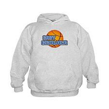 Baby Brother Basketball Hoodie