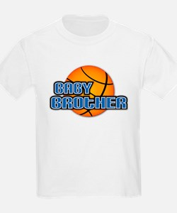 Baby Brother Basketball T-Shirt