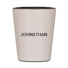 Johnathan Digital Name Design Shot Glass