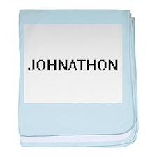Johnathon Digital Name Design baby blanket