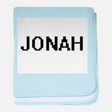 Jonah Digital Name Design baby blanket