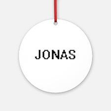 Jonas Digital Name Design Ornament (Round)