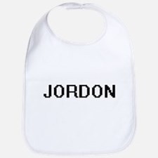 Jordon Digital Name Design Bib