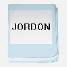 Jordon Digital Name Design baby blanket