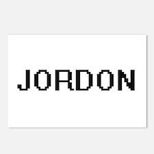 Jordon Digital Name Desig Postcards (Package of 8)