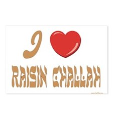Jewish Raisin Challah Postcards (Package of 8)