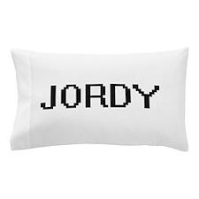 Jordy Digital Name Design Pillow Case