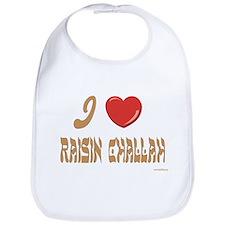 Jewish Raisin Challah Bib