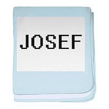 Josef Digital Name Design baby blanket