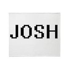 Josh Digital Name Design Throw Blanket
