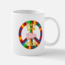 Peace Love Pigs Mug
