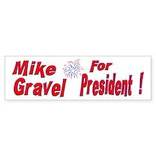 Mike Gravel Bumper Bumper Sticker
