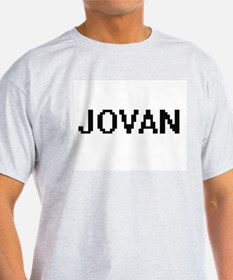 Jovan Digital Name Design T-Shirt