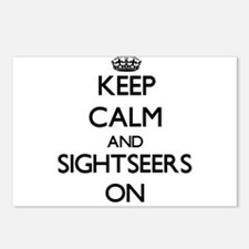 Keep Calm and Sightseers Postcards (Package of 8)