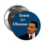 Iowa for Obama campaign button