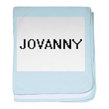 Jovanny Digital Name Design baby blanket