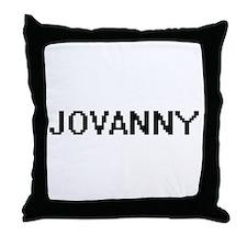 Jovanny Digital Name Design Throw Pillow