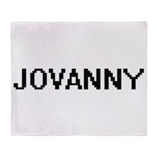 Jovanny Digital Name Design Throw Blanket