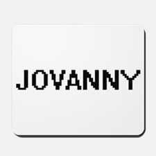 Jovanny Digital Name Design Mousepad