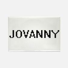 Jovanny Digital Name Design Magnets