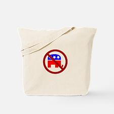 Anti-Elephant Tote Bag