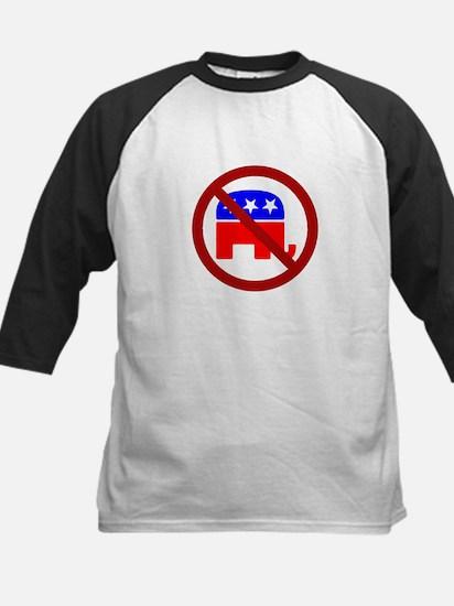 Anti-Elephant Kids Baseball Jersey