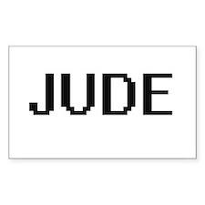 Jude Digital Name Design Decal