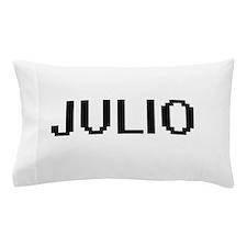 Julio Digital Name Design Pillow Case