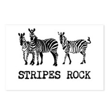 Stripes Rock Postcards (Package of 8)