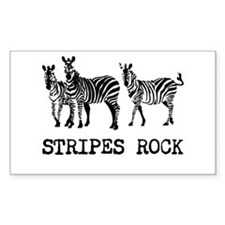 Stripes Rock Decal
