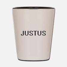 Justus Digital Name Design Shot Glass