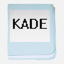 Kade Digital Name Design baby blanket