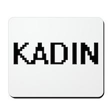 Kadin Digital Name Design Mousepad