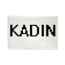 Kadin Digital Name Design Magnets