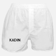 Kadin Digital Name Design Boxer Shorts