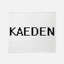 Kaeden Digital Name Design Throw Blanket