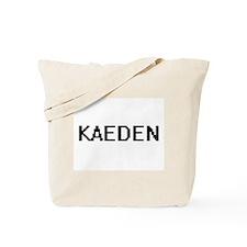 Kaeden Digital Name Design Tote Bag